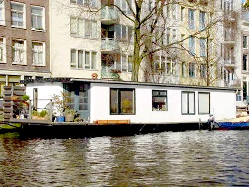 Amsterdam, le House Boat